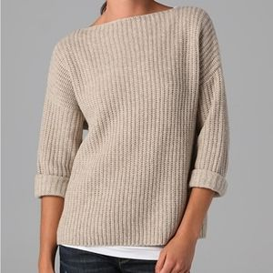 Vince Chunky Knit Oversized Sweater